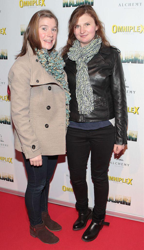 Marla Candon and Natalia Szuklska  at the Irish premiere screening of Kajaki at Omniplex in Rathmines Dublin.Picture:Brian McEvoy.