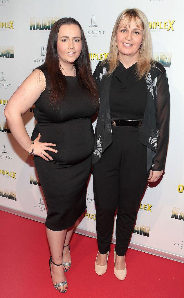 Lauren Gangel and Maggie Gangel at the Irish premiere screening of Kajaki at Omniplex in Rathmines Dublin.Picture:Brian McEvoy.