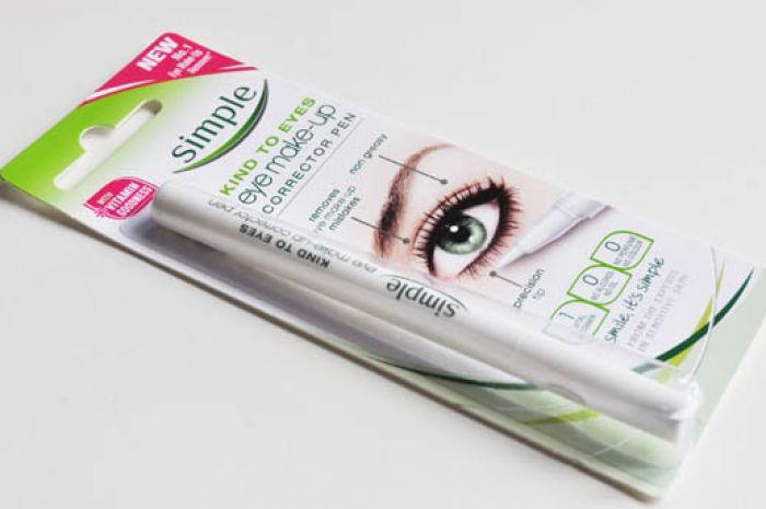 Simple Eye Makeup Corrector Pen Review