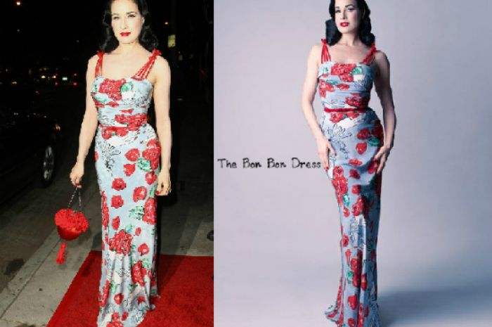 The Dita Von Teese Fashion Collection Super Stylish Super Classy Marilyn Manson Eat Your Heart Out Beaut Ie