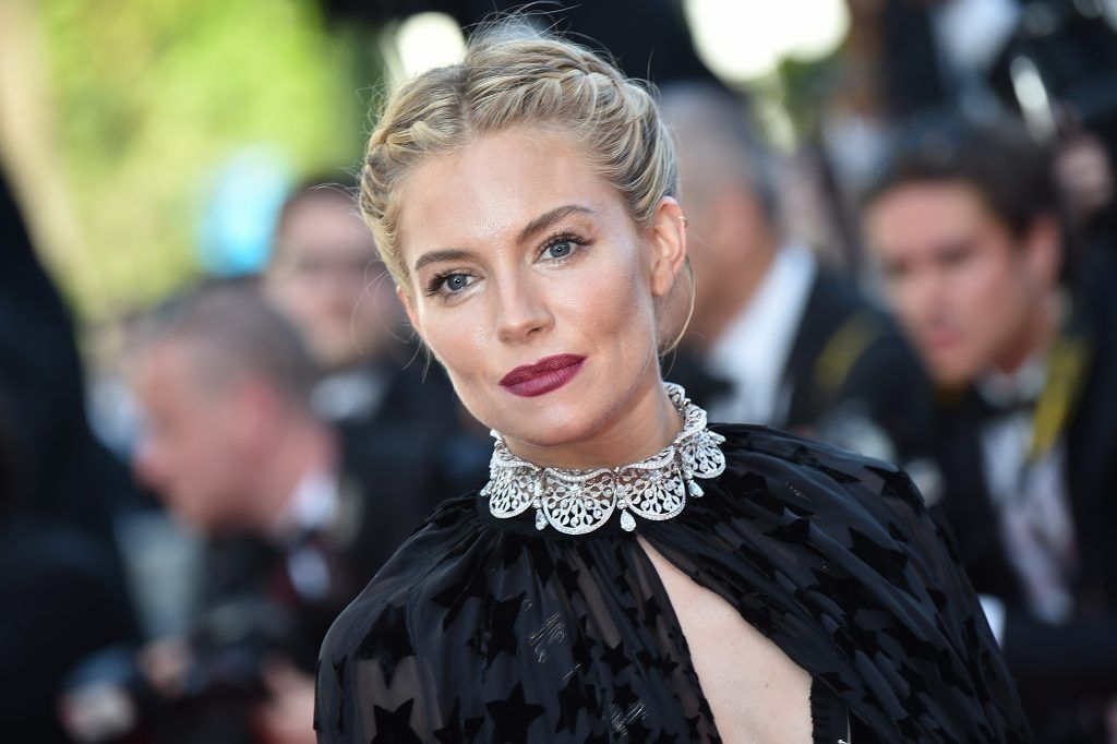 Sienna Miller  (Photo by Bertrand Langois/AFP/Getty Images)
