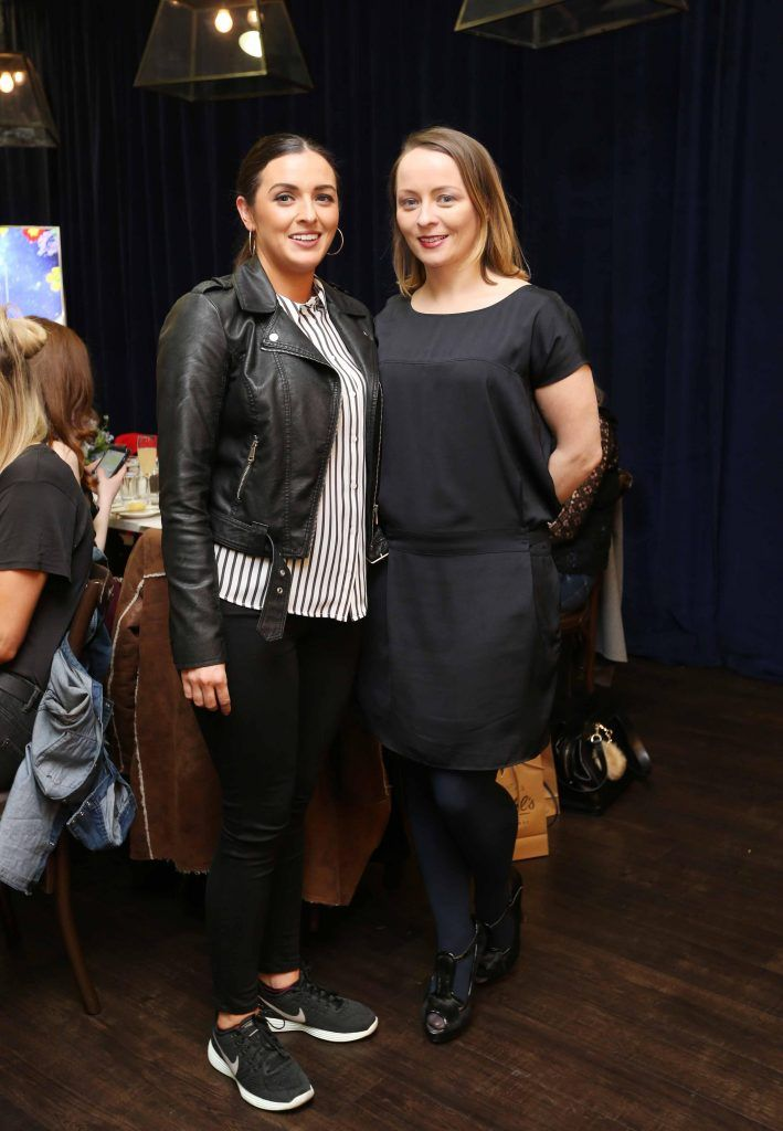 Pictured at the Kiehls and Arnotts supper launch event of Midnight Recovery Botanical Cleansing Oil held at Clodagh's Kitchen were (LtoR) Niamh Byrne and Roisin Tierney Crowe. The highly anticipated launch of Midnight Recovery Botanical Cleansing Oil takes place from March 19th. Photo: Sasko Lazarov/Photocall Ireland