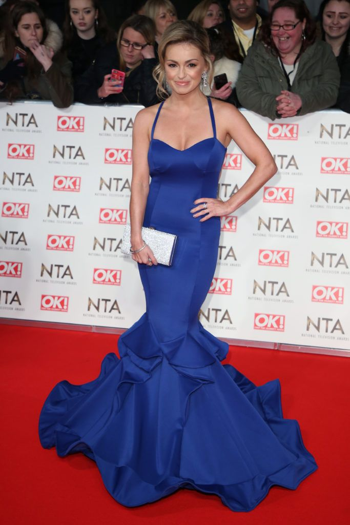 The National TV Awards (NTA's) held at the O2 - Arrivals  Featuring: Ola Jordan Where: London, United Kingdom When: 25 Jan 2017 Credit: Lia Toby/WENN.com