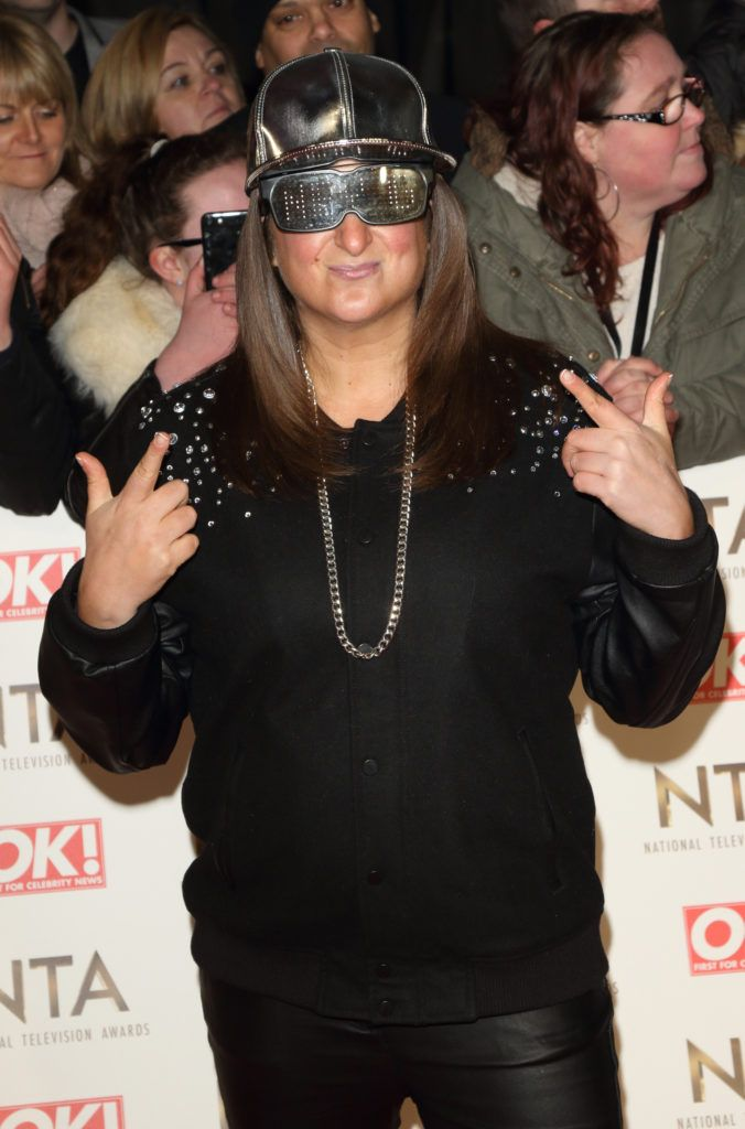 National Television Awards at The O2, Peninsula Square in London - Red carpet arrivals  Featuring: Honey G Where: London, United Kingdom When: 25 Jan 2017 Credit: WENN.com