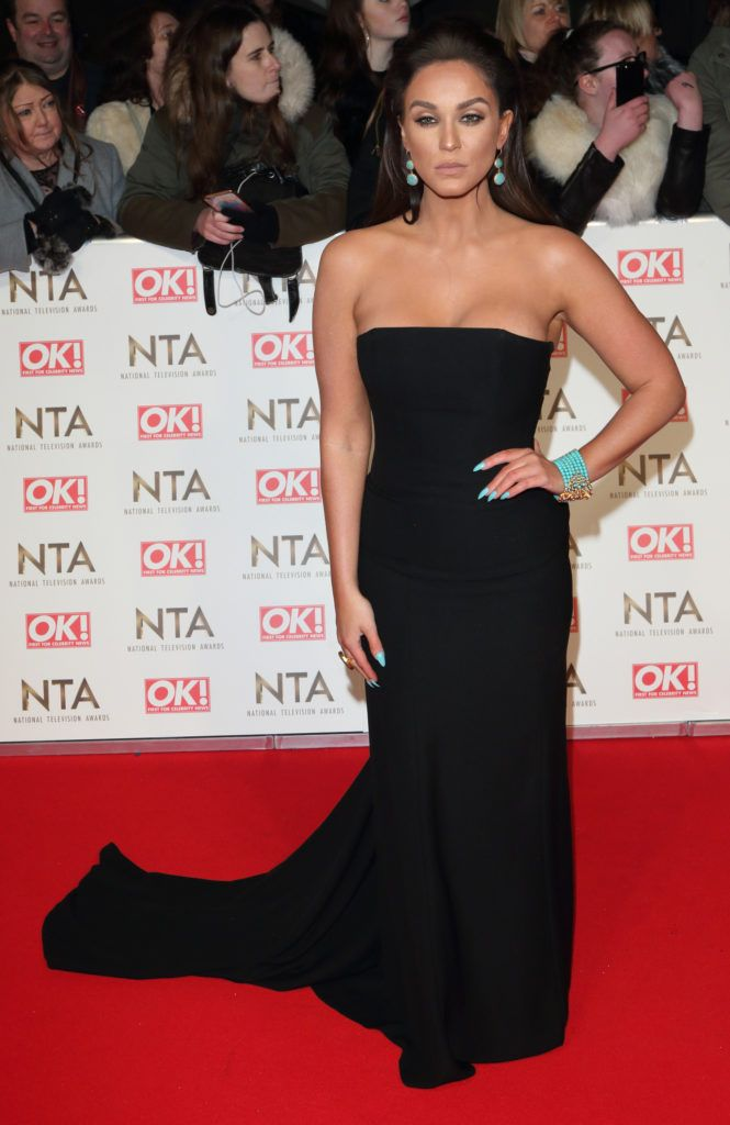 National Television Awards at The O2, Peninsula Square in London - Red carpet arrivals  Featuring: Vicky Pattison Where: London, United Kingdom When: 25 Jan 2017 Credit: WENN.com