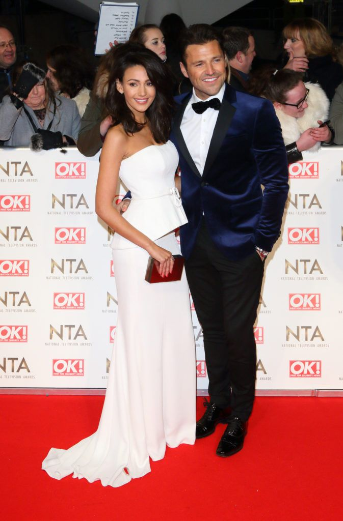 National Television Awards at The O2, Peninsula Square in London - Red carpet arrivals  Featuring: Michelle Keegan, Mark Wright Where: London, United Kingdom When: 25 Jan 2017 Credit: WENN.com