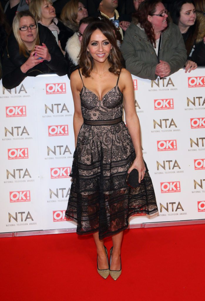 National Television Awards at The O2, Peninsula Square in London - Red carpet arrivals  Featuring: Samia Ghadie Where: London, United Kingdom When: 25 Jan 2017 Credit: WENN.com
