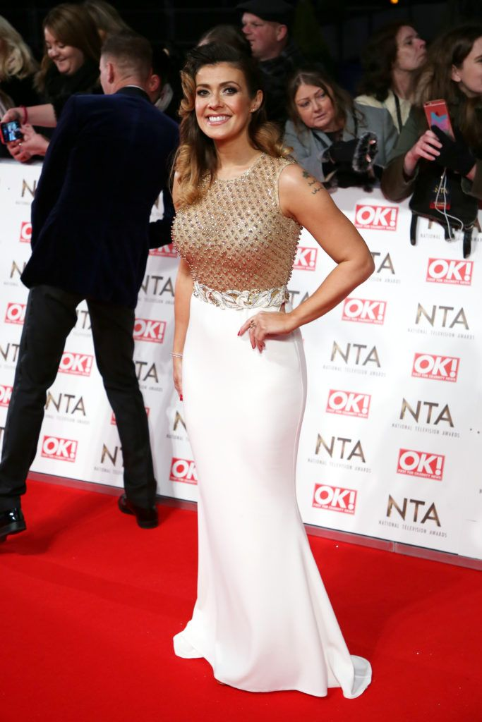 The National Television Awards 2017 (NTA's) held at the O2 Arena - Arrivals  Featuring: Kym Marsh Where: London, United Kingdom When: 25 Jan 2017 Credit: Lia Toby/WENN.com