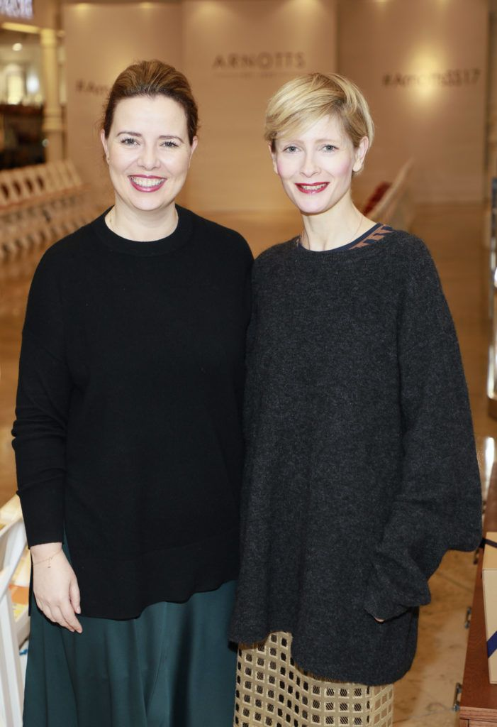 Rosemary McMeel and Marie Kelly at the launch of Arnotts  Spring Summer 2017 womenswear collections