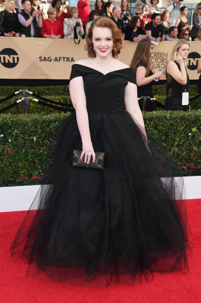 LOS ANGELES, CA - JANUARY 29:  Actor Shannon Purser attends the 23rd Annual Screen Actors Guild Awards at The Shrine Expo Hall on January 29, 2017 in Los Angeles, California.  (Photo by Alberto E. Rodriguez/Getty Images)
