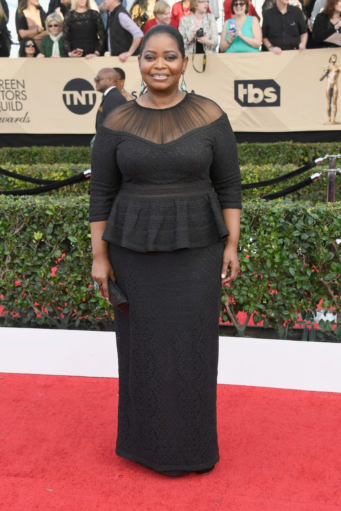 LOS ANGELES, CA - JANUARY 29:  Actor Octavia Spencer attends The 23rd Annual Screen Actors Guild Awards at The Shrine Auditorium on January 29, 2017 in Los Angeles, California. 26592_008  (Photo by Frazer Harrison/Getty Images)
