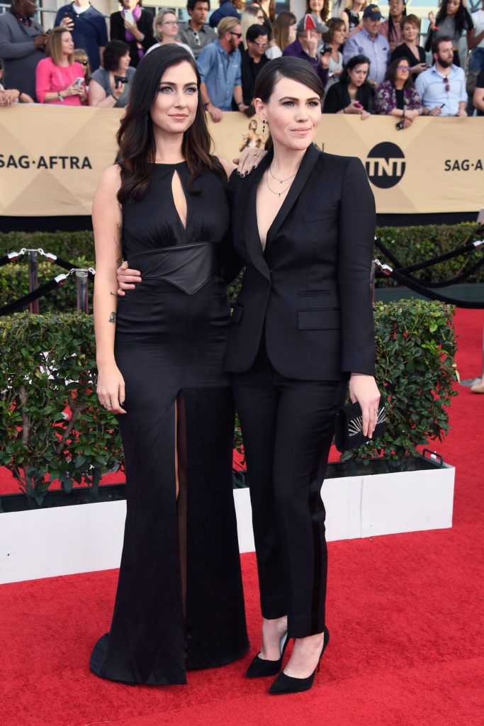 LOS ANGELES, CA - JANUARY 29:  Actor Clea DuVall (R) attends The 23rd Annual Screen Actors Guild Awards at The Shrine Auditorium on January 29, 2017 in Los Angeles, California. 26592_008  (Photo by Frazer Harrison/Getty Images)