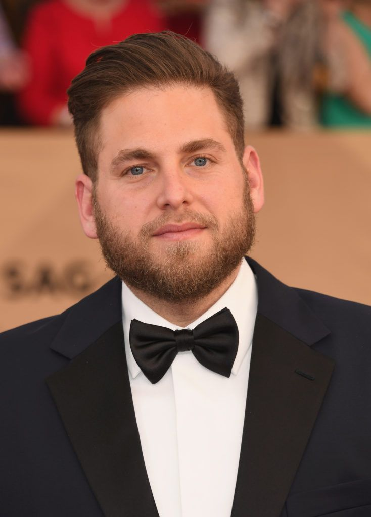 LOS ANGELES, CA - JANUARY 29:  Actor Jonah Hill attends the 23rd Annual Screen Actors Guild Awards at The Shrine Expo Hall on January 29, 2017 in Los Angeles, California.  (Photo by Alberto E. Rodriguez/Getty Images)