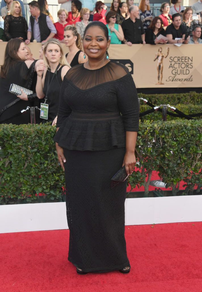 LOS ANGELES, CA - JANUARY 29:  Actor Octavia Spencer attends the 23rd Annual Screen Actors Guild Awards at The Shrine Expo Hall on January 29, 2017 in Los Angeles, California.  (Photo by Alberto E. Rodriguez/Getty Images)