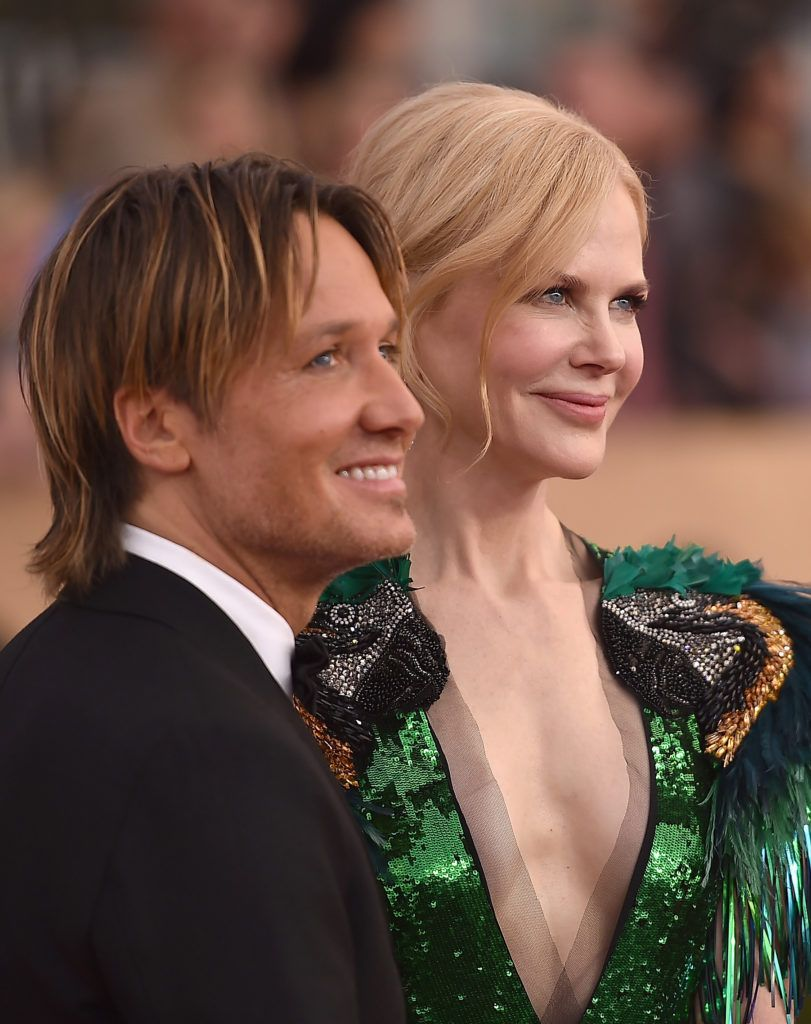 LOS ANGELES, CA - JANUARY 29:  Musician Keith Urban (L) and actress Nichole Kidman attend the 23rd Annual Screen Actors Guild Awards at The Shrine Expo Hall on January 29, 2017 in Los Angeles, California.  (Photo by Alberto E. Rodriguez/Getty Images)