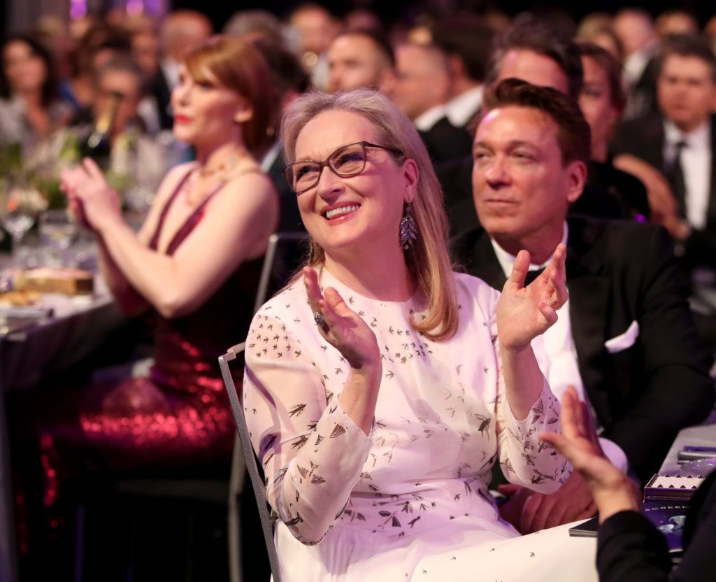 LOS ANGELES, CA - JANUARY 29: Actor Meryl Streep during The 23rd Annual Screen Actors Guild Awards at The Shrine Auditorium on January 29, 2017 in Los Angeles, California. 26592_012  (Photo by Christopher Polk/Getty Images for TNT)