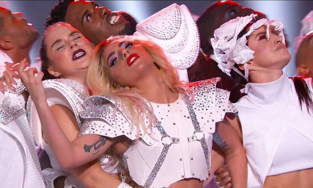 Celebs react to Lady Gaga's mic-dropping spectacular Super Bowl Halftime Show