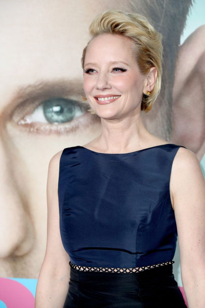 """Actress Anne Heche attends the premiere of HBO's """"Big Little Lies"""" at TCL Chinese Theatre on February 7, 2017 in Hollywood, California.  (Photo by Frederick M. Brown/Getty Images)"""