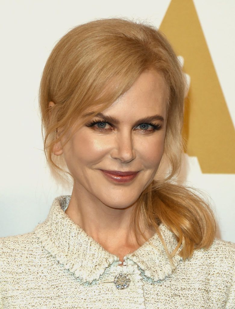 Nicole Kidman attends the 89th Annual Academy Awards Nominee Luncheon at The Beverly Hilton Hotel on February 6, 2017 in Beverly Hills, California.  (Photo by Kevin Winter/Getty Images)