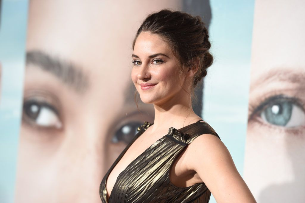 """Shailene Woodley attends the premiere of HBO's """"Big Little Lies"""" at TCL Chinese Theatre on February 7, 2017 in Hollywood, California.  (Photo by Kevork Djansezian/Getty Images)"""