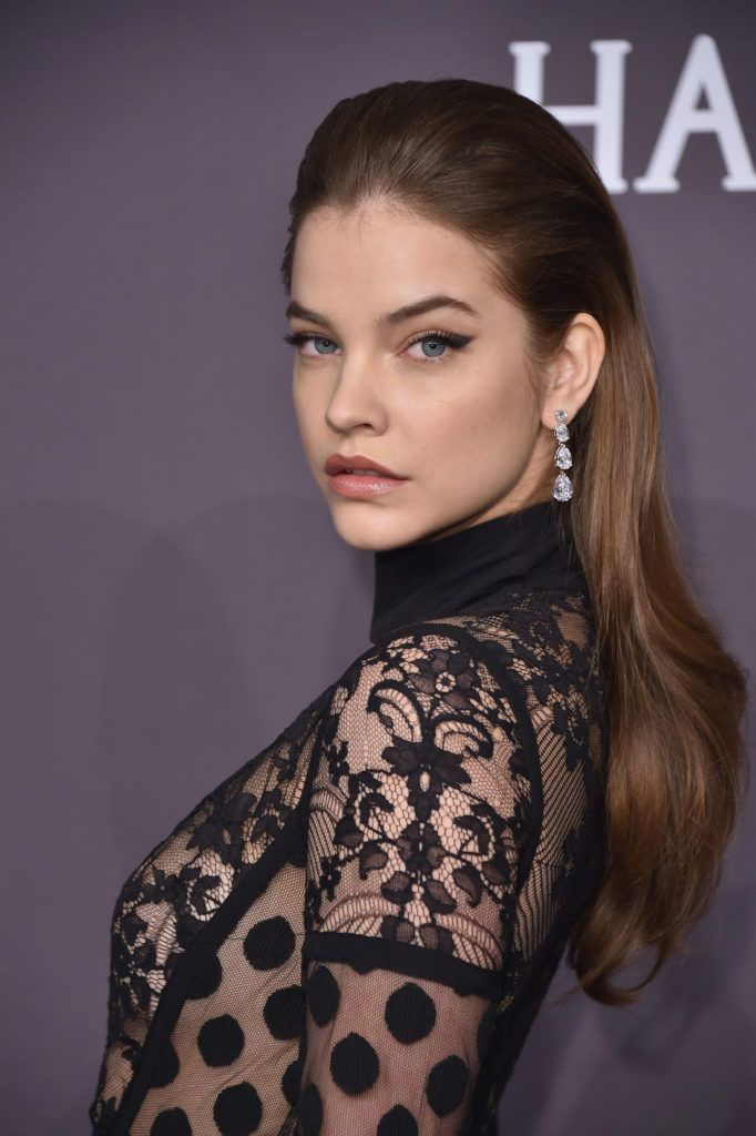Model Barbara Palvin attends the 19th Annual amfAR New York Gala at Cipriani Wall Street on February 8, 2017 in New York City.  (Photo by Michael Loccisano/Getty Images)