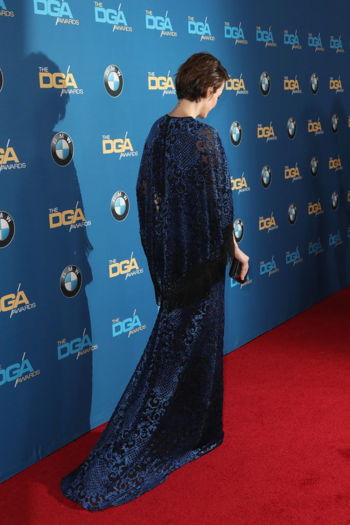 Actress Sarah Paulson attends the 69th Annual Directors Guild of America Awards at The Beverly Hilton Hotel on February 4, 2017 in Beverly Hills, California.  (Photo by Frederick M. Brown/Getty Images)