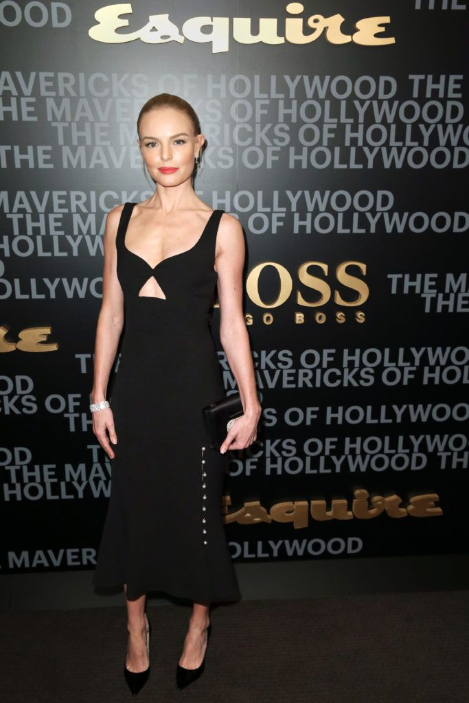 Kate Bosworth attends Esquire's celebration of March cover star James Corden and the Mavericks of Hollywood presented by Hugo Boss at Sunset Tower Hotel on February 8, 2017 in West Hollywood, California.  (Photo by Joe Scarnici/Getty Images for Esquire)