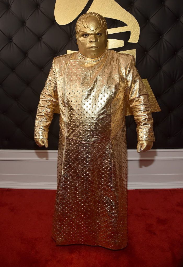 LOS ANGELES, CA - FEBRUARY 12:  Singer Gnarly Davidson (aka CeeLo Green) attends The 59th GRAMMY Awards at STAPLES Center on February 12, 2017 in Los Angeles, California.  (Photo by Alberto E. Rodriguez/Getty Images for NARAS)