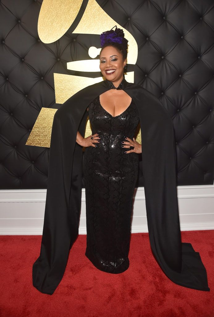 LOS ANGELES, CA - FEBRUARY 12: Singer Lalah Hathaway attends The 59th GRAMMY Awards at STAPLES Center on February 12, 2017 in Los Angeles, California.  (Photo by Alberto E. Rodriguez/Getty Images for NARAS)