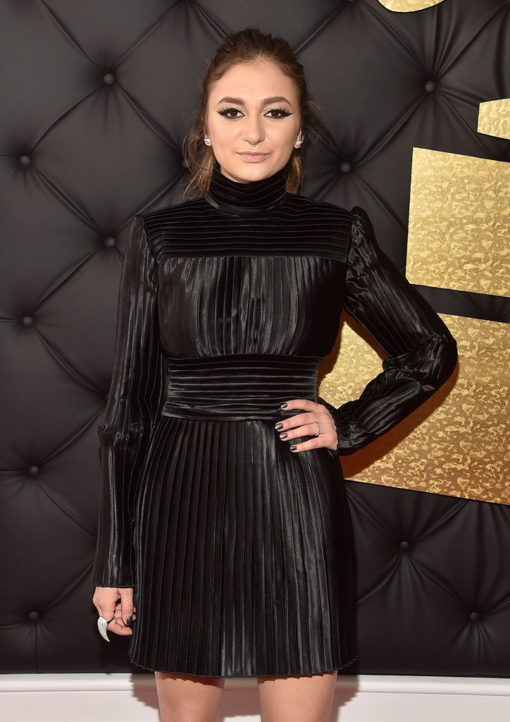 LOS ANGELES, CA - FEBRUARY 12: Singer Daya attends The 59th GRAMMY Awards at STAPLES Center on February 12, 2017 in Los Angeles, California.  (Photo by Alberto E. Rodriguez/Getty Images for NARAS)