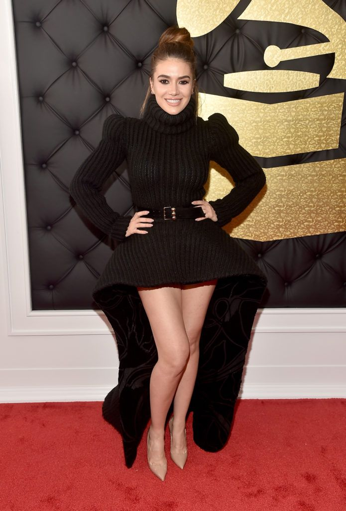 LOS ANGELES, CA - FEBRUARY 12:  Musician Elvana Giante attends The 59th GRAMMY Awards at STAPLES Center on February 12, 2017 in Los Angeles, California.  (Photo by Alberto E. Rodriguez/Getty Images for NARAS)