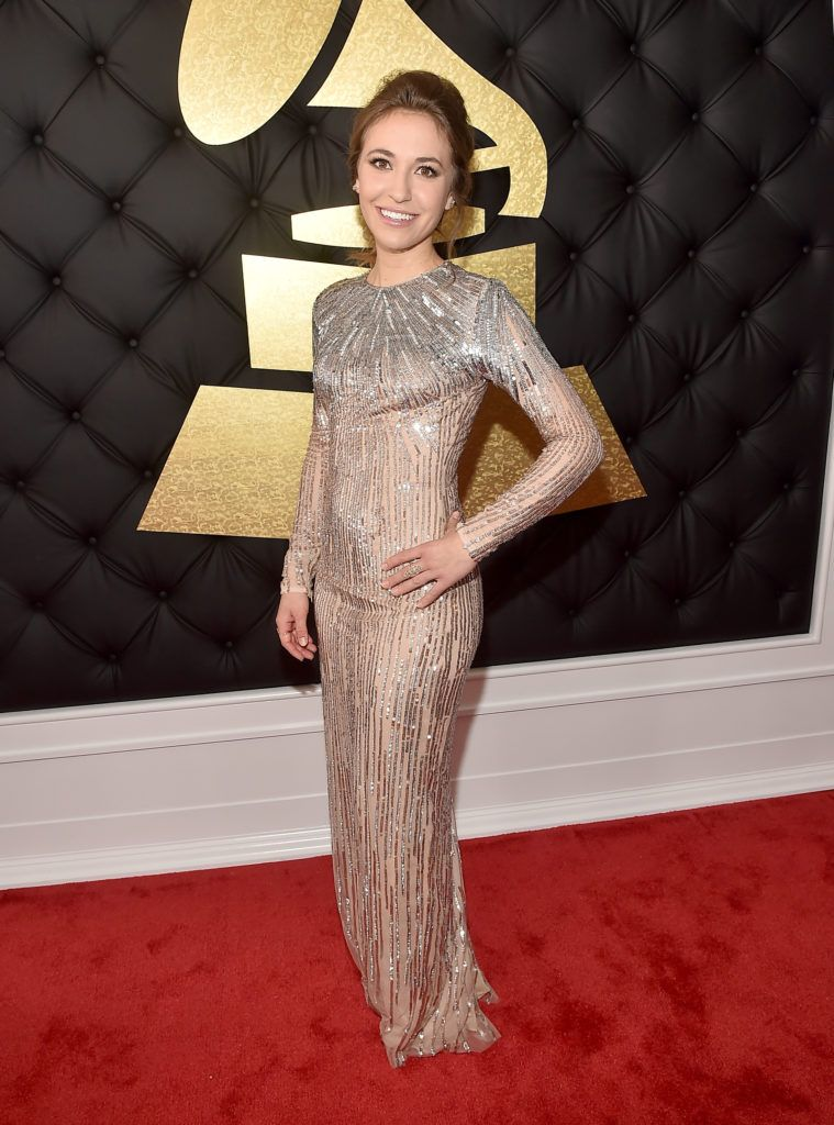 LOS ANGELES, CA - FEBRUARY 12:  Singer Lauren Daigle attends The 59th GRAMMY Awards at STAPLES Center on February 12, 2017 in Los Angeles, California.  (Photo by Alberto E. Rodriguez/Getty Images for NARAS)