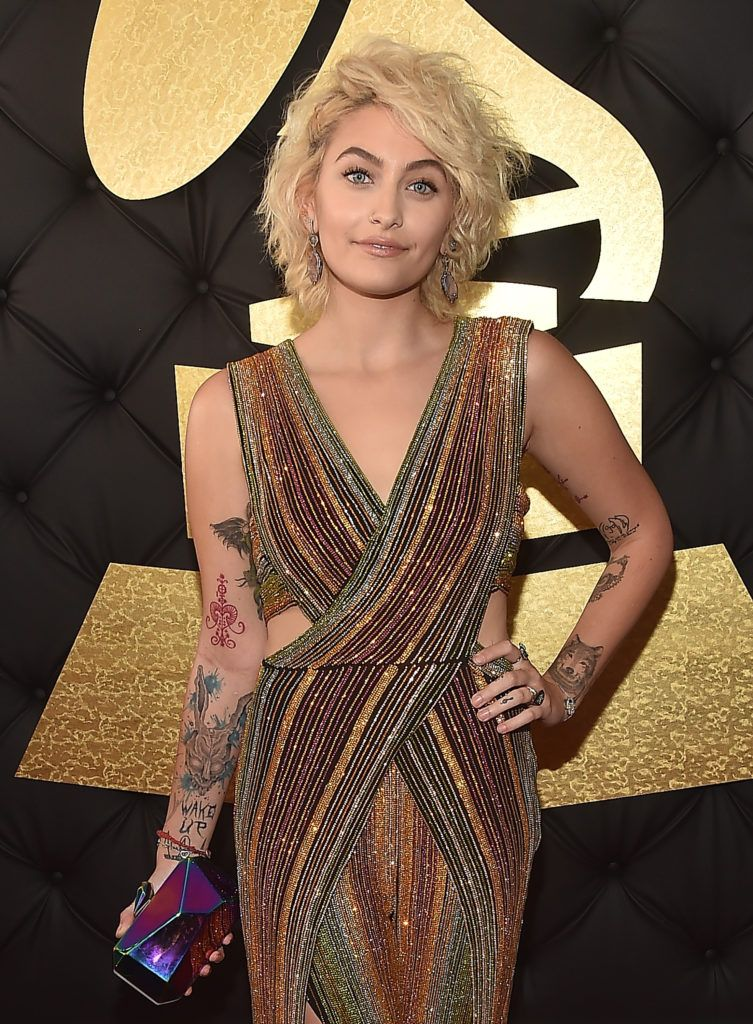 LOS ANGELES, CA - FEBRUARY 12:  Paris Jackson attends The 59th GRAMMY Awards at STAPLES Center on February 12, 2017 in Los Angeles, California.  (Photo by Alberto E. Rodriguez/Getty Images for NARAS)