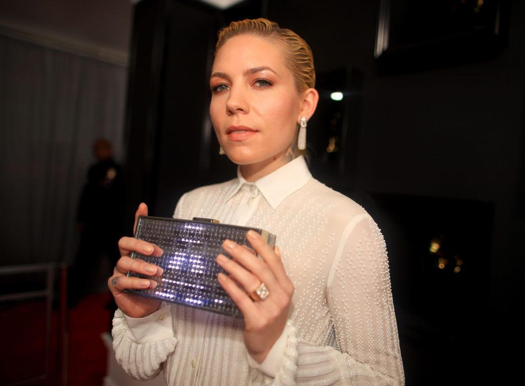 LOS ANGELES, CA - FEBRUARY 12:  Singer/songwriter Skylar Grey attends The 59th GRAMMY Awards at STAPLES Center on February 12, 2017 in Los Angeles, California.  (Photo by Christopher Polk/Getty Images for NARAS)