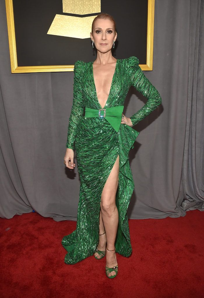 LOS ANGELES, CA - FEBRUARY 12: Singer Celine Dion attends The 59th GRAMMY Awards at STAPLES Center on February 12, 2017 in Los Angeles, California.  (Photo by Alberto E. Rodriguez/Getty Images for NARAS)