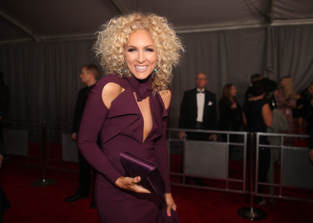LOS ANGELES, CA - FEBRUARY 12: Musician Kimberly Schlapman of Little Big Town attends The 59th GRAMMY Awards at STAPLES Center on February 12, 2017 in Los Angeles, California.  (Photo by Christopher Polk/Getty Images for NARAS)