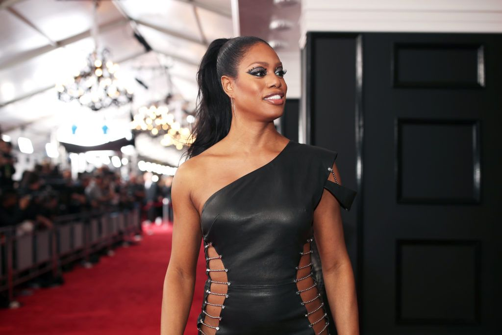LOS ANGELES, CA - FEBRUARY 12:  Actress Laverne Cox attends The 59th GRAMMY Awards at STAPLES Center on February 12, 2017 in Los Angeles, California.  (Photo by Christopher Polk/Getty Images for NARAS)