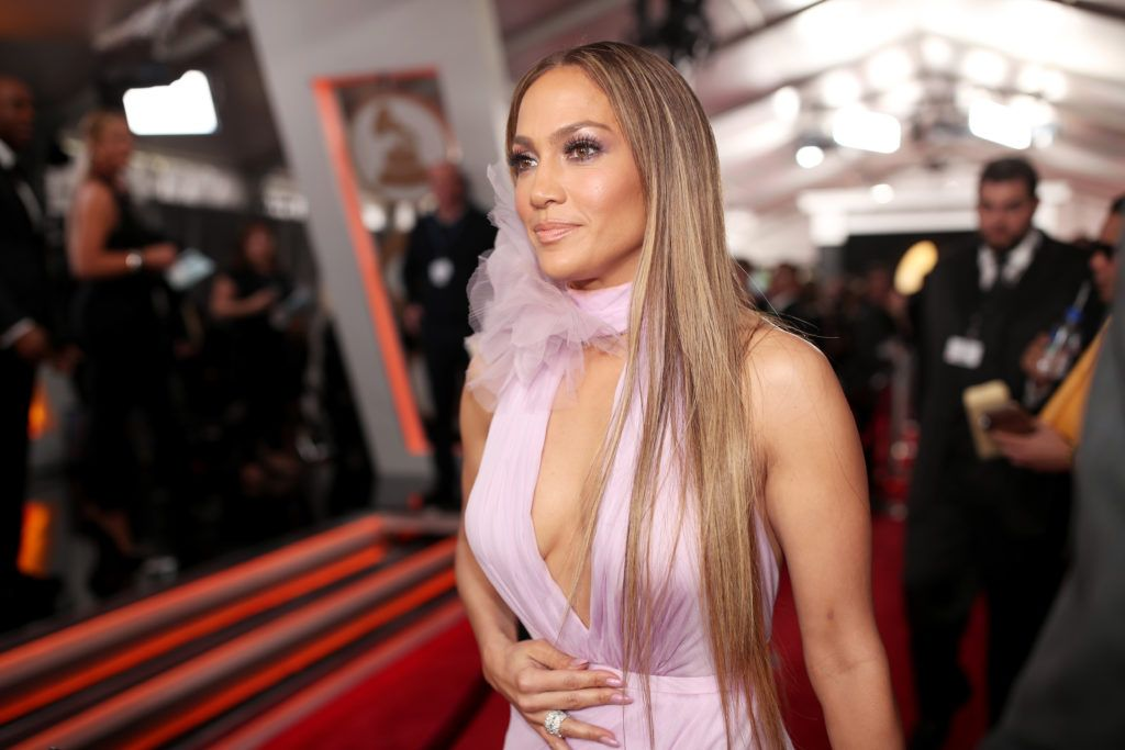 LOS ANGELES, CA - FEBRUARY 12: Actress/Singer Jennifer Lopez attends The 59th GRAMMY Awards at STAPLES Center on February 12, 2017 in Los Angeles, California.  (Photo by Christopher Polk/Getty Images for NARAS)