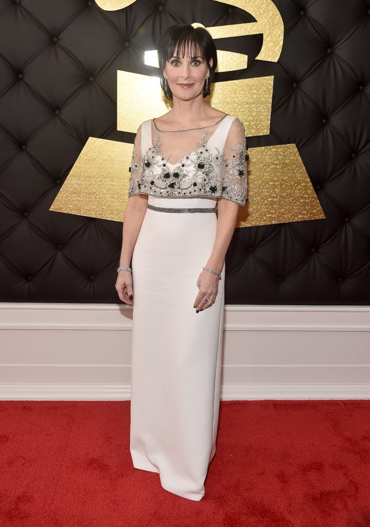 LOS ANGELES, CA - FEBRUARY 12:  Singer Enya attends The 59th GRAMMY Awards at STAPLES Center on February 12, 2017 in Los Angeles, California.  (Photo by Alberto E. Rodriguez/Getty Images for NARAS)