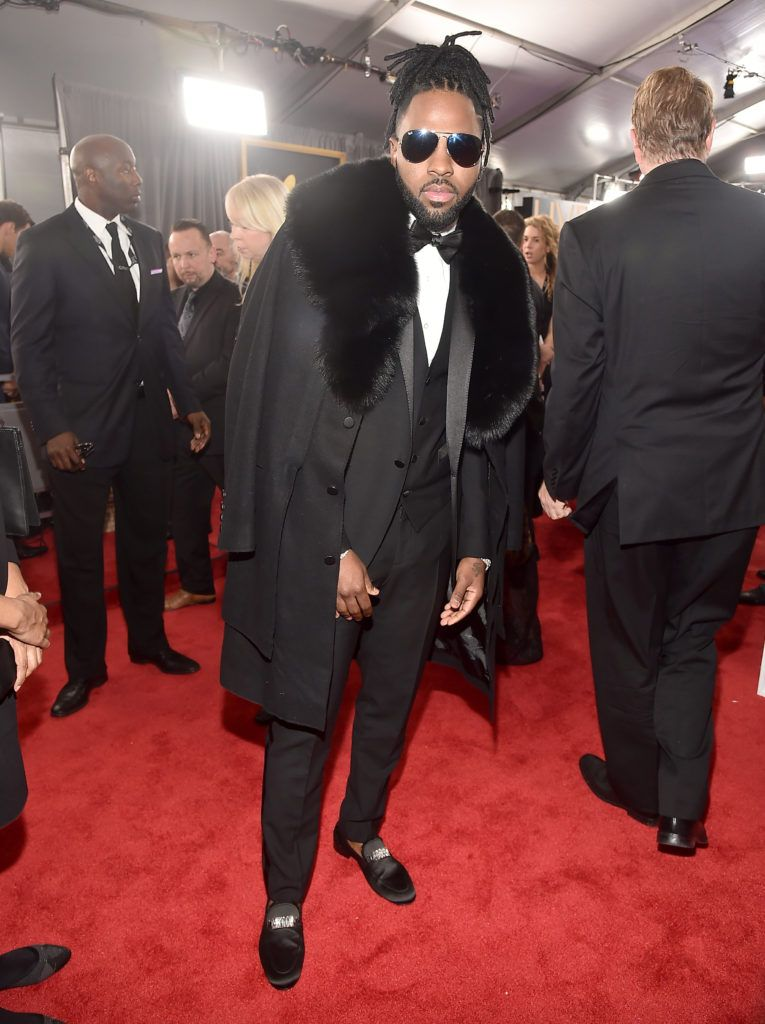 LOS ANGELES, CA - FEBRUARY 12: Singer Jason Derulo attends The 59th GRAMMY Awards at STAPLES Center on February 12, 2017 in Los Angeles, California.  (Photo by Alberto E. Rodriguez/Getty Images for NARAS)