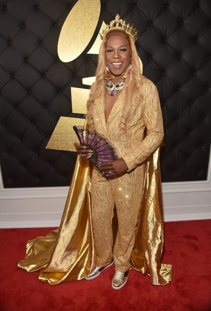 LOS ANGELES, CA - FEBRUARY 12: Hip Hop Artist Big Freedia attends The 59th GRAMMY Awards at STAPLES Center on February 12, 2017 in Los Angeles, California.  (Photo by Alberto E. Rodriguez/Getty Images for NARAS)