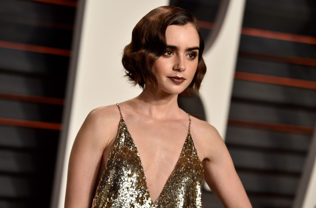 Lily Collins (Photo by Pascal Le Segretain/Getty Images)