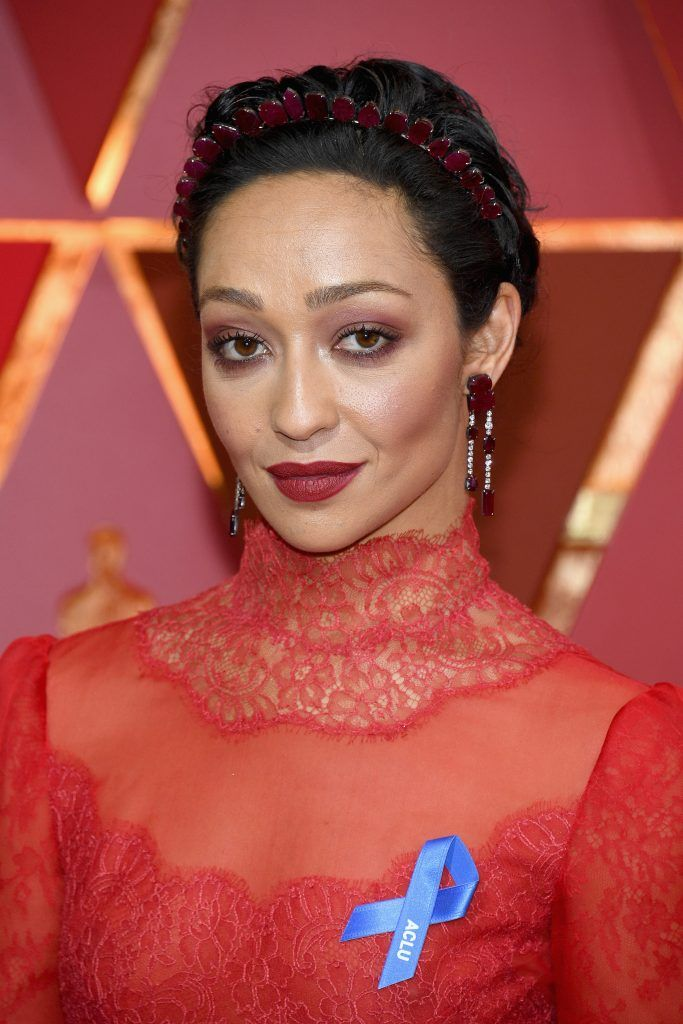 HOLLYWOOD, CA - FEBRUARY 26:  Actor Ruth Negga attends the 89th Annual Academy Awards at Hollywood & Highland Center on February 26, 2017 in Hollywood, California.  (Photo by Kevork Djansezian/Getty Images)