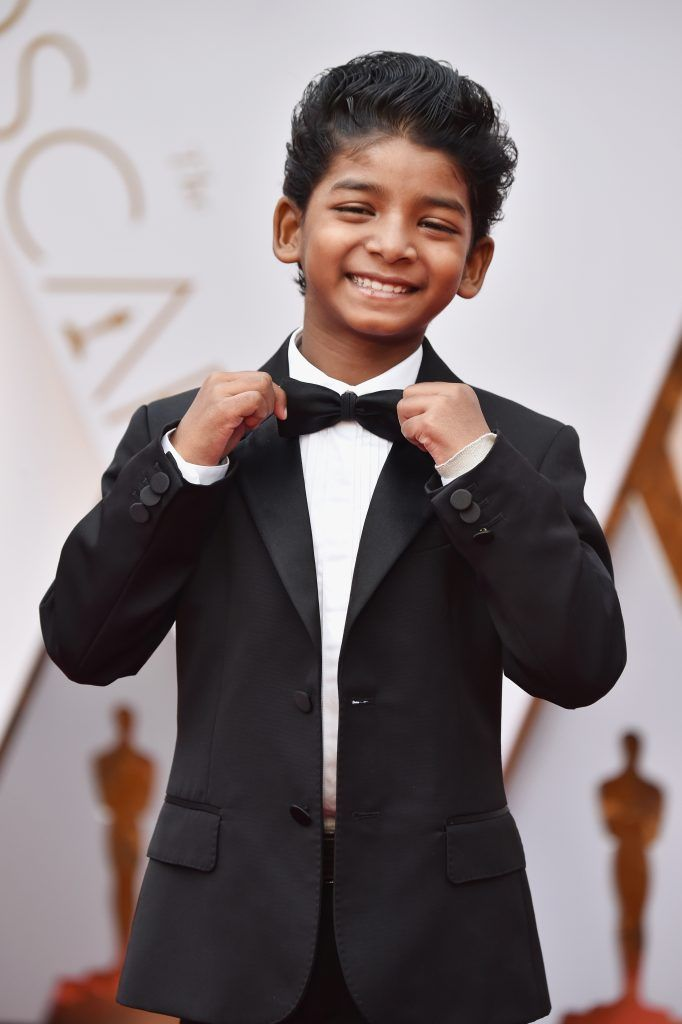 HOLLYWOOD, CA - FEBRUARY 26:  Actor Sunny Pawar attends the 89th Annual Academy Awards at Hollywood & Highland Center on February 26, 2017 in Hollywood, California.  (Photo by Frazer Harrison/Getty Images)