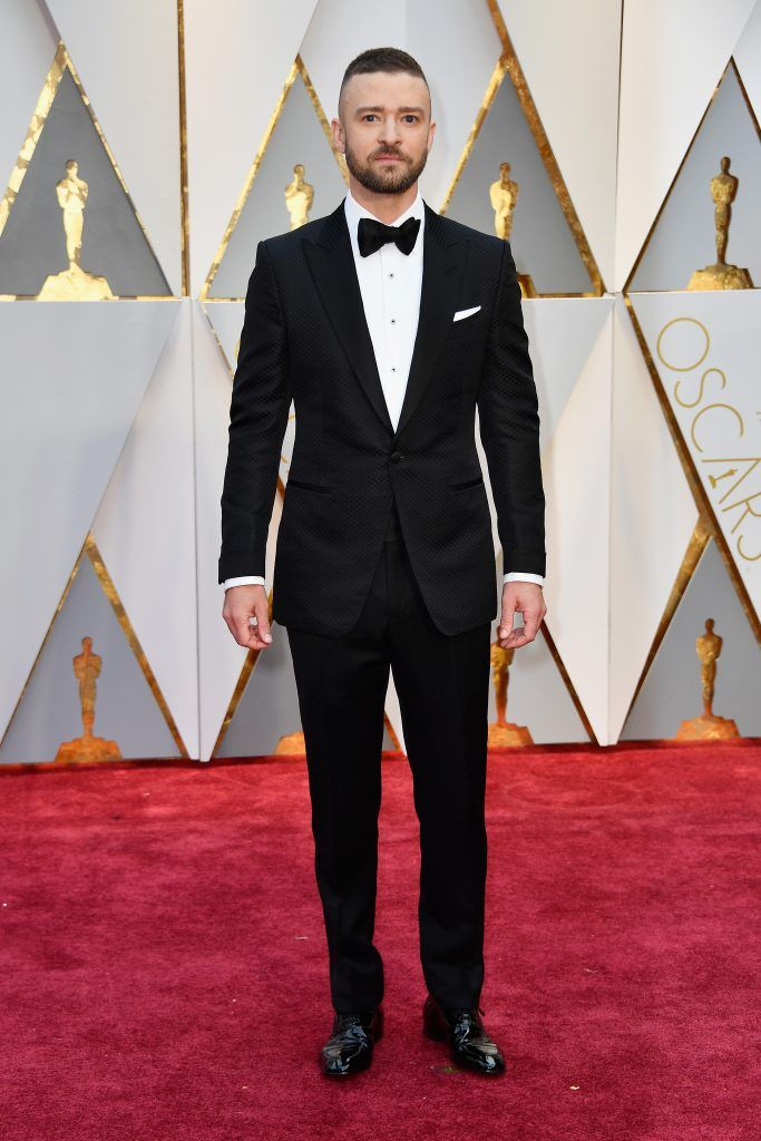 HOLLYWOOD, CA - FEBRUARY 26:  Actor/singer Justin Timberlake attends the 89th Annual Academy Awards at Hollywood & Highland Center on February 26, 2017 in Hollywood, California.  (Photo by Frazer Harrison/Getty Images)