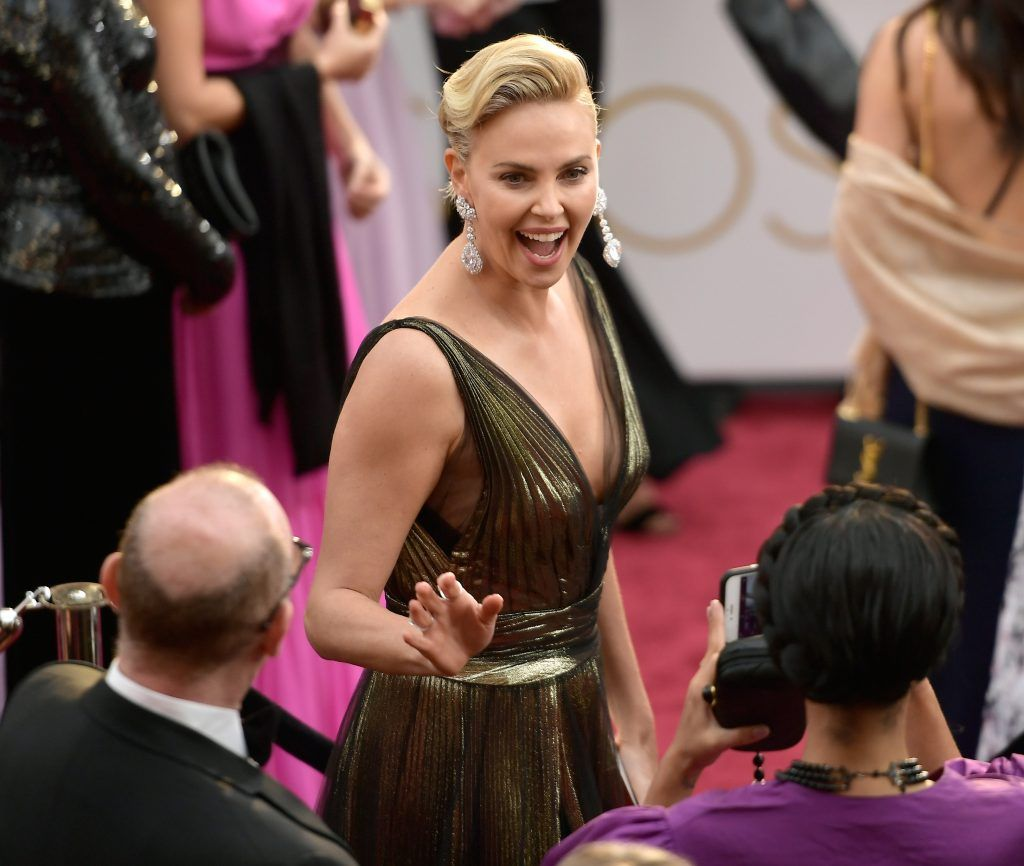 HOLLYWOOD, CA - FEBRUARY 26:  Actor Charlize Theron attends the 89th Annual Academy Awards at Hollywood & Highland Center on February 26, 2017 in Hollywood, California.  (Photo by Matt Winkelmeyer/Getty Images)