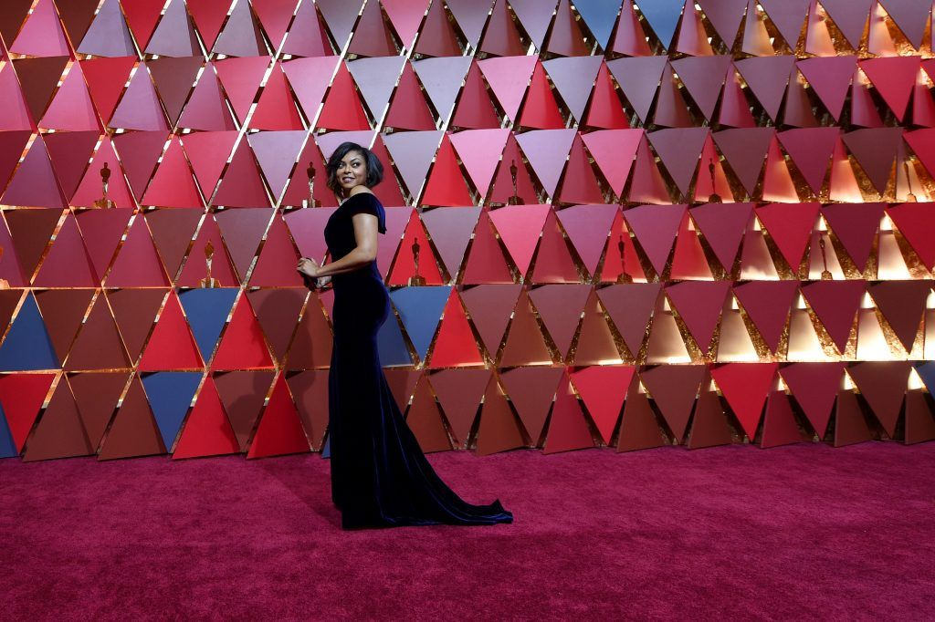 HOLLYWOOD, CA - FEBRUARY 26:  Actor Taraji P. Henson attends the 89th Annual Academy Awards at Hollywood & Highland Center on February 26, 2017 in Hollywood, California.  (Photo by Kevork Djansezian/Getty Images)