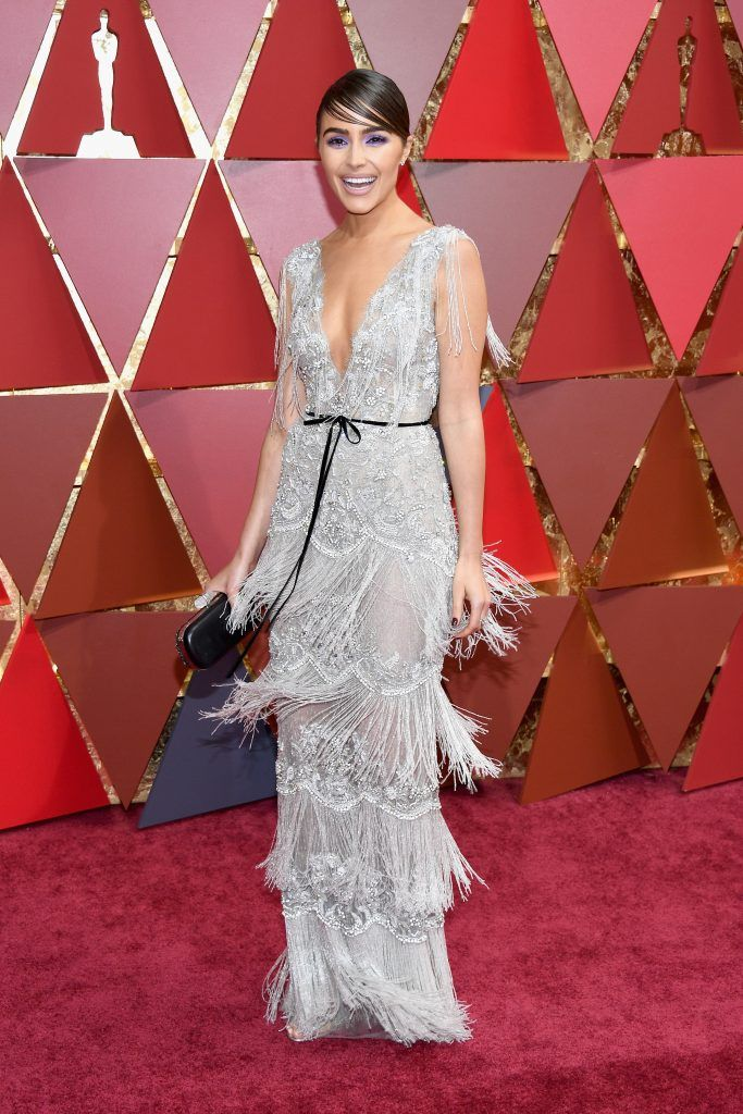 HOLLYWOOD, CA - FEBRUARY 26:  Olivia Culpo attends the 89th Annual Academy Awards at Hollywood & Highland Center on February 26, 2017 in Hollywood, California.  (Photo by Kevork Djansezian/Getty Images)