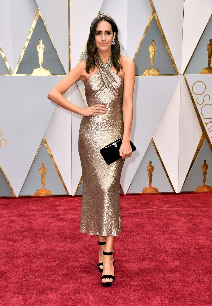 HOLLYWOOD, CA - FEBRUARY 26:  TV personality Louise Roe attends the 89th Annual Academy Awards at Hollywood & Highland Center on February 26, 2017 in Hollywood, California.  (Photo by Frazer Harrison/Getty Images)