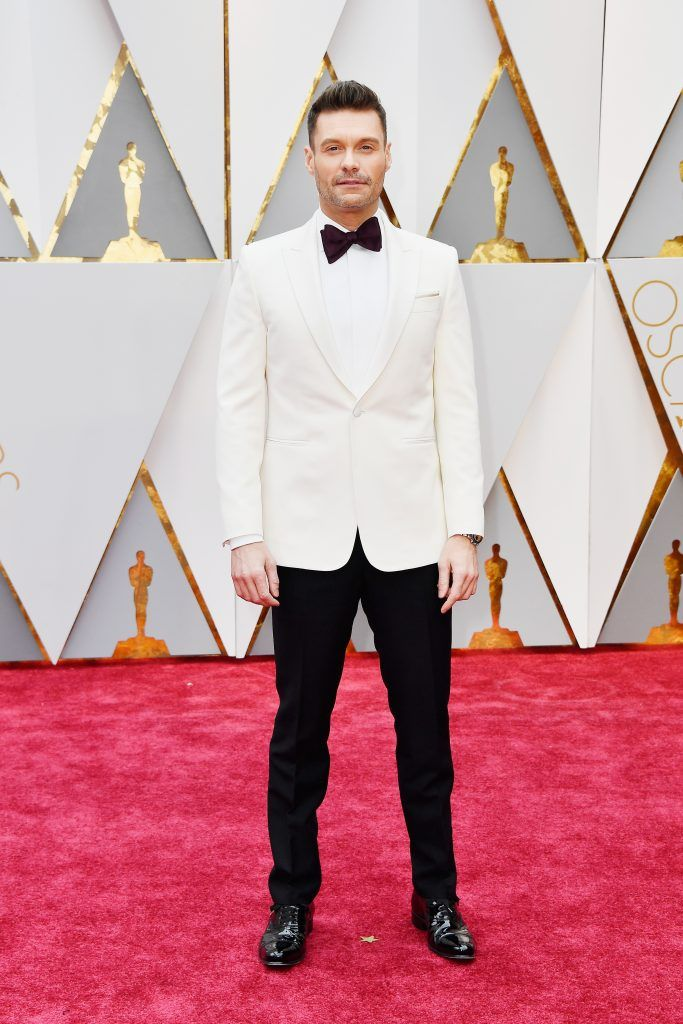 HOLLYWOOD, CA - FEBRUARY 26:  TV personality Ryan Seacrest attends the 89th Annual Academy Awards at Hollywood & Highland Center on February 26, 2017 in Hollywood, California.  (Photo by Frazer Harrison/Getty Images)